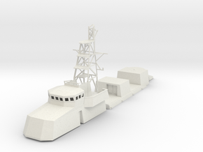 1/96 scale Cyclone Class Coastal Patrol Structure  in White Strong & Flexible