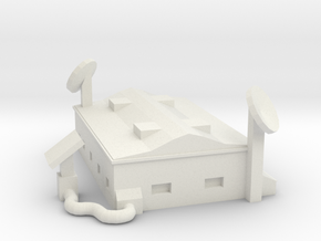 Comcenter - Low Poly in White Strong & Flexible