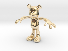 MOUSE KITOY in 14K Gold