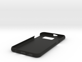 Galaxy S6 simple case in Black Strong & Flexible