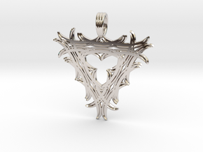 TRINITY ENCHANTMENT in Rhodium Plated