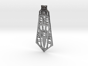 tower in Polished Silver