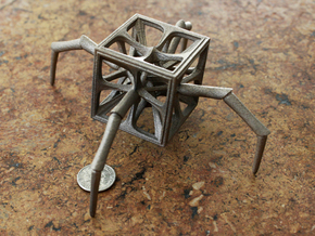Aracno-Hedron in Stainless Steel