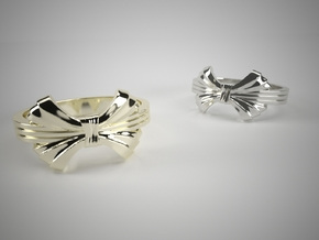 The Elegant Ring Size 6 in Premium Silver