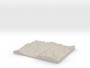Model of Arranmore in Sandstone