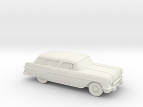1/87 1957 Pontiac Safari  in White Strong & Flexible