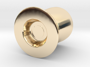 Door Handle 2 in 14K Gold