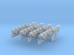 Sleeper Simulant (1:18 Scale) 4 Pack in Frosted Ultra Detail
