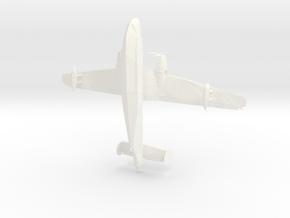 Russian Plane in White Strong & Flexible Polished