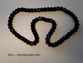 Necklaces - RCe v1 in Black Strong & Flexible
