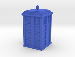 Tardis  in Blue Strong & Flexible Polished