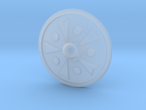 Miniature Shield 3 in Frosted Extreme Detail
