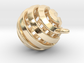Ball-small-14-4 in 14k Gold Plated