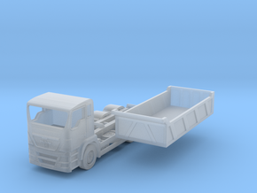 N Scale MAN TGS Dump Truck in Frosted Extreme Detail