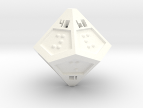 Braille D100 in White Strong & Flexible Polished