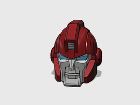 """Armored Bodyguard Head """"AHM"""" in Frosted Ultra Detail"""