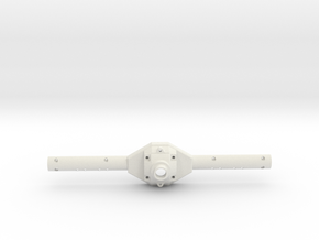 Front Axle Housing in White Strong & Flexible