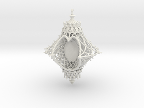 Ornament of the Angelic Spirit [customizable] in White Strong & Flexible