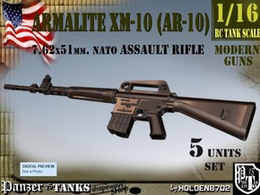 1-16 Armalite XM-10 Set in Frosted Ultra Detail