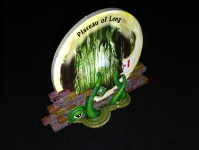 Gate Holders (6 pcs) - Arkham Horror in White Strong & Flexible
