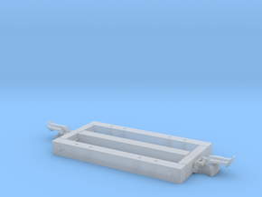 1:24 Heywood 2x4 Basic Car Frame w/ Heywood Couple in Frosted Ultra Detail