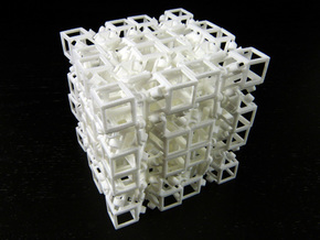Jitterbox 4x4x4 in White Strong & Flexible