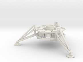 1/200 NASA/JPL MARS ASCENT VEHICLE LANDING LEGS in White Strong & Flexible