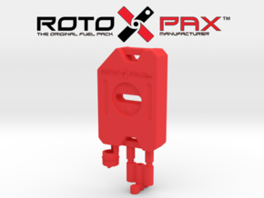 AJ10016 RotoPax 1 Gallon Fuel Pack - RED in Red Strong & Flexible Polished