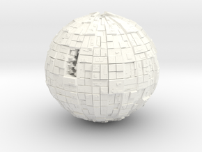 Borg Sphere in White Strong & Flexible Polished