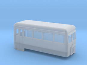 009 short double-ended railbus ( narrow version)  in Frosted Ultra Detail