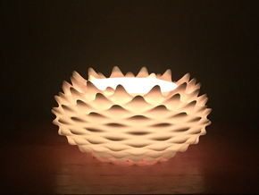 Tea Light(Candle Holder) in White Strong & Flexible