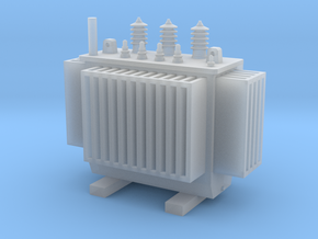 3 Phase Electric Transformer  TT Scale 1:120 in Frosted Ultra Detail