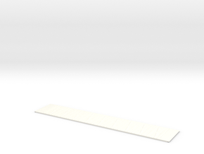 Stanray 50ft Flat X Panel Roof Bx196 in White Strong & Flexible Polished