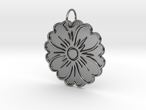 Simple Scent in Polished Silver
