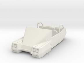 AC01 Type 282G Convertible Air Car (28mm) in White Strong & Flexible