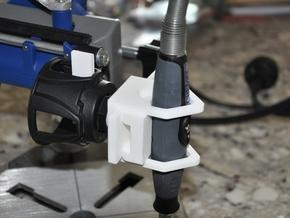 Tool Carrier - Custom Dremel adapter in White Strong & Flexible