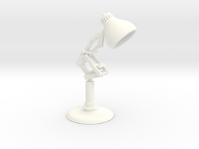 Pixar Lamp in White Strong & Flexible Polished