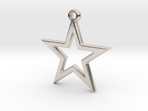 STAR9 in Rhodium Plated