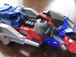 CW 'GROOVE' Guns (LR Ver) Inspired by G1 Override in Polished Metallic Plastic