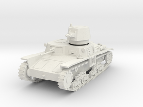 PV102A M11/39 Medium Tank (28mm) in White Strong & Flexible