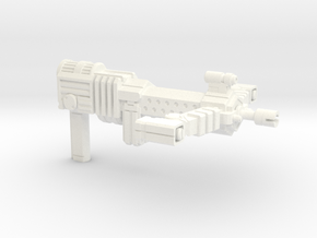 PM-15 WILHELM in White Strong & Flexible Polished