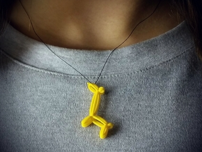 BALLOON GIRAFE, pendant in Stainless Steel