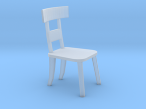 Chair HO Scale in Frosted Extreme Detail