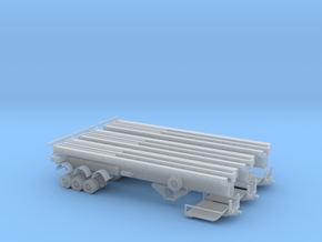 N Wind Blade Trailer (Expandable) 3-Pack in Frosted Ultra Detail