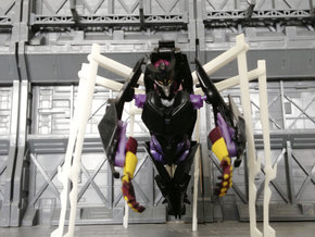 TF: Prime Queen set for deluxe Airachnid in White Strong & Flexible
