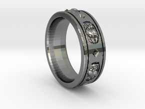 Ring Courson-v3.d58 in Polished Silver