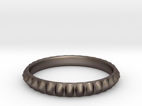 Spiked cockring in Stainless Steel