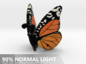 Butterfly 1 - M in Full Color Sandstone
