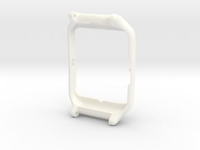 Sony Smartwatch 3 adapter 22mm in White Strong & Flexible Polished