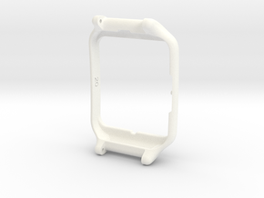 Sony Smartwatch 3 adapter 20mm in White Strong & Flexible Polished